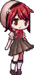 [Erika] pixel chibi by Aerypear