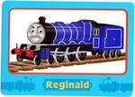 Reginald's Trading Card