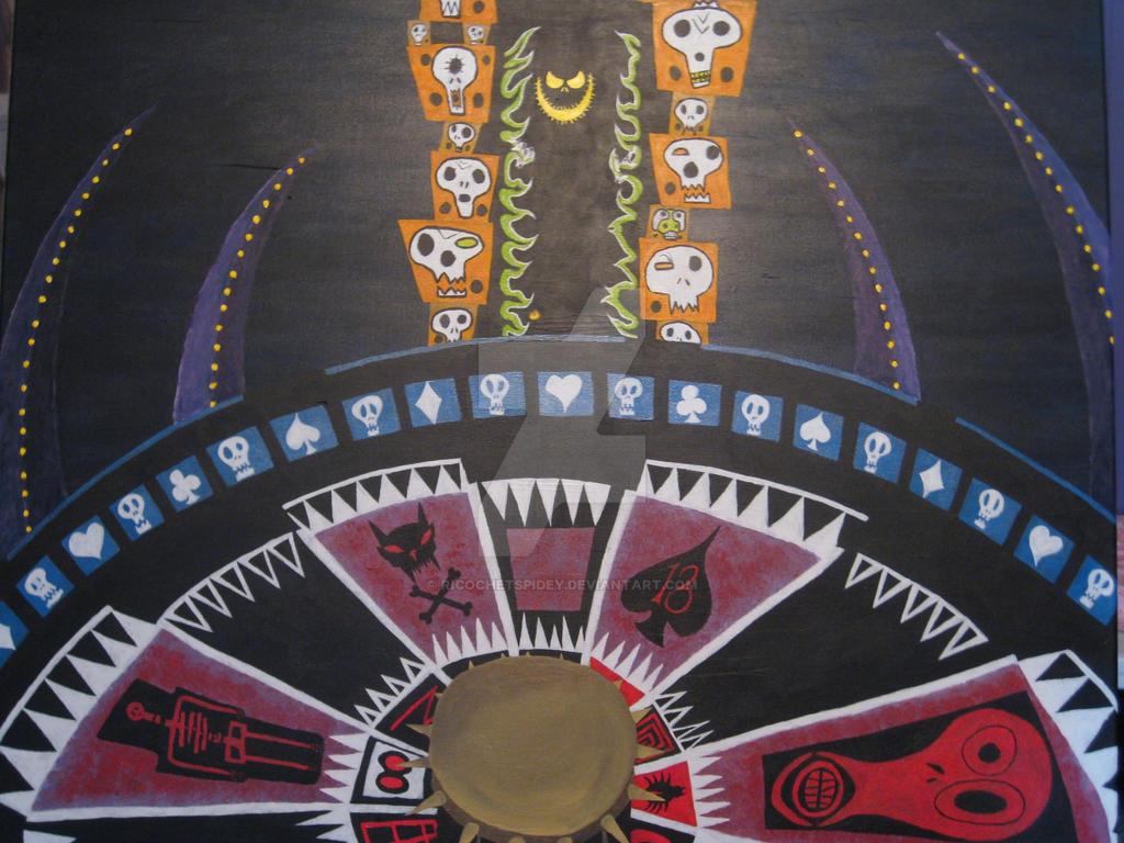 Name roulette wheel