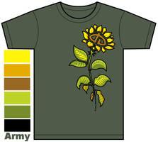 dA Flower Shirt Design
