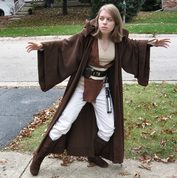 Jedi Costume by clearkid