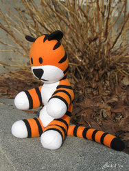 Hobbes Plush by clearkid