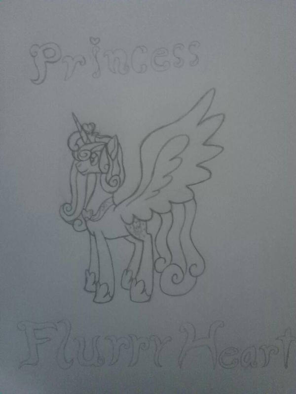 Adult Princess Flurry Heart by crystal23dragon