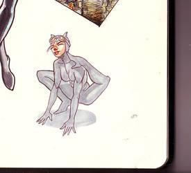 Catwoman by ilkersak
