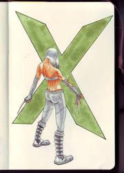 X-23 by ilkersak