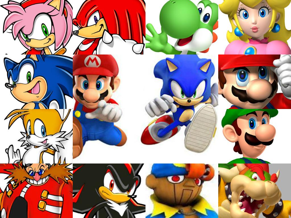 Sonic vs Mario by INeededANewName on DeviantArt