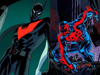 Batman Beyond Vs Spiderman 2099