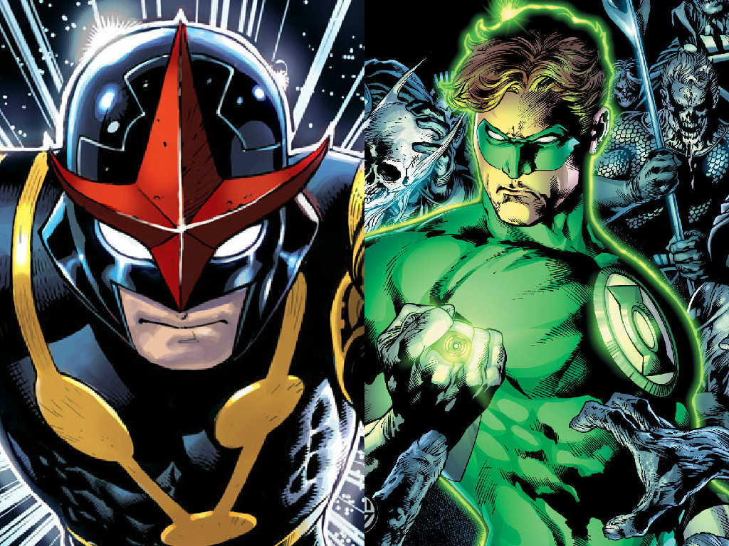 Nova Vs Green Lantern by INeededANewName on DeviantArt