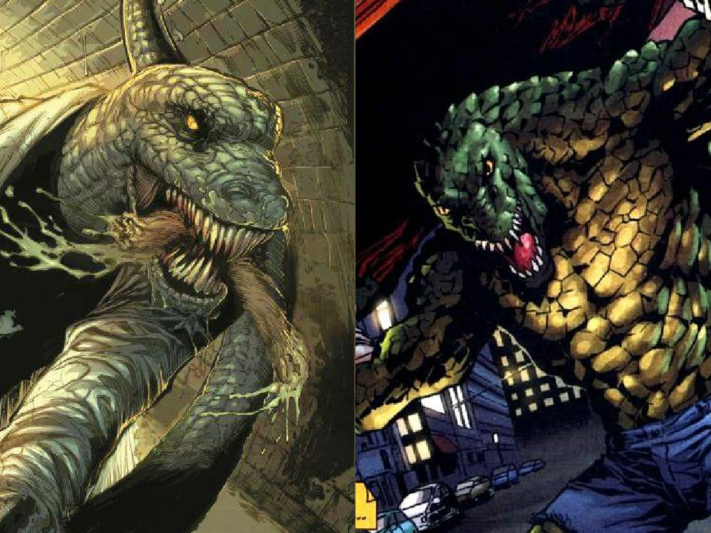 Amazing Wallpaper Marvel Lizard - the_lizard_vs_killer_croc_by_halloweenlover316-d8t61eq  Perfect Image Reference_84851.jpg