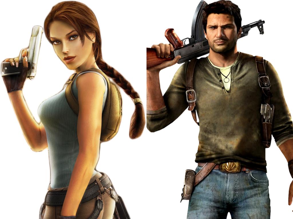 Lara Croft And Nathan Drake: Lara Croft Vs Nathan Drake By INeededANewName On DeviantArt