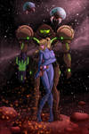 Samus better put that suit back on!