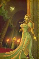 The Princess of Legend by artofjared