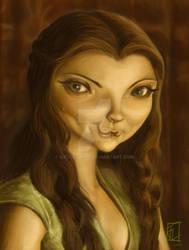 Natalie Dormer Caricature