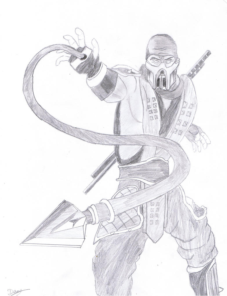 Scorpion mk Drawings Scorpion Mortal Kombat