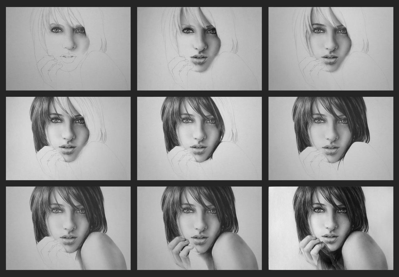 Susan Coffey - WIP Series by bm23