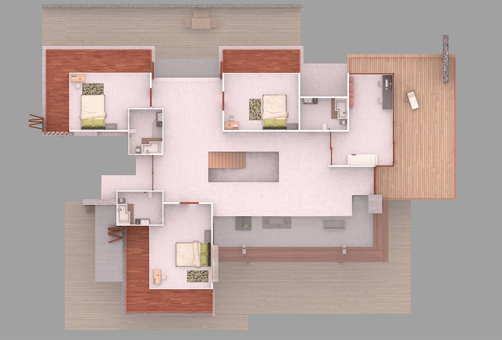 Eco House 2nd Floor Plan By Bm23 On Deviantart