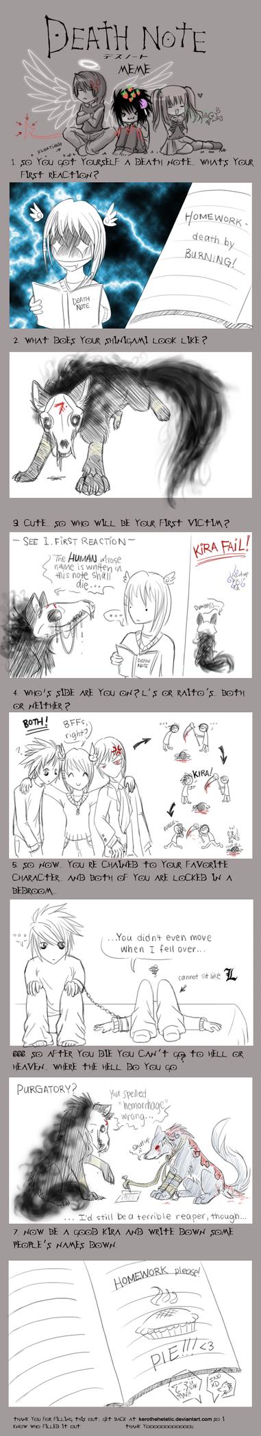 INKY Death Note Meme by Inkshadow