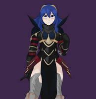 Dark Knight Lucina by KreativeKyle