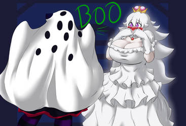 BOO Princess Boo by KreativeKyle