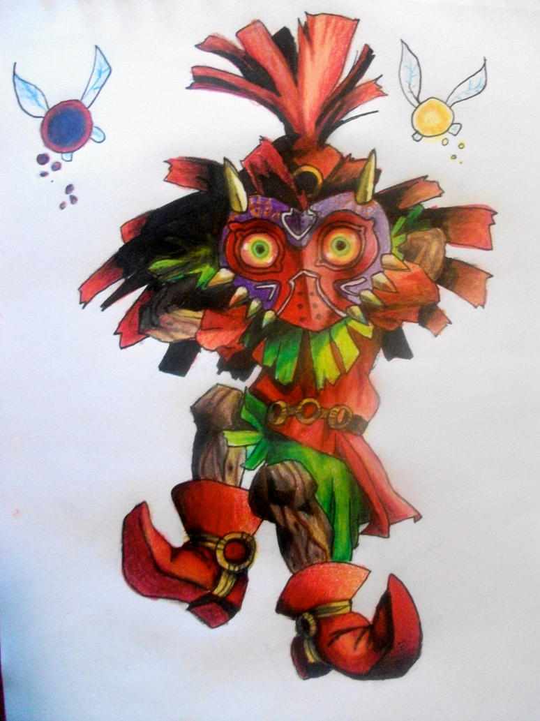 Skull Kid by baberscamille