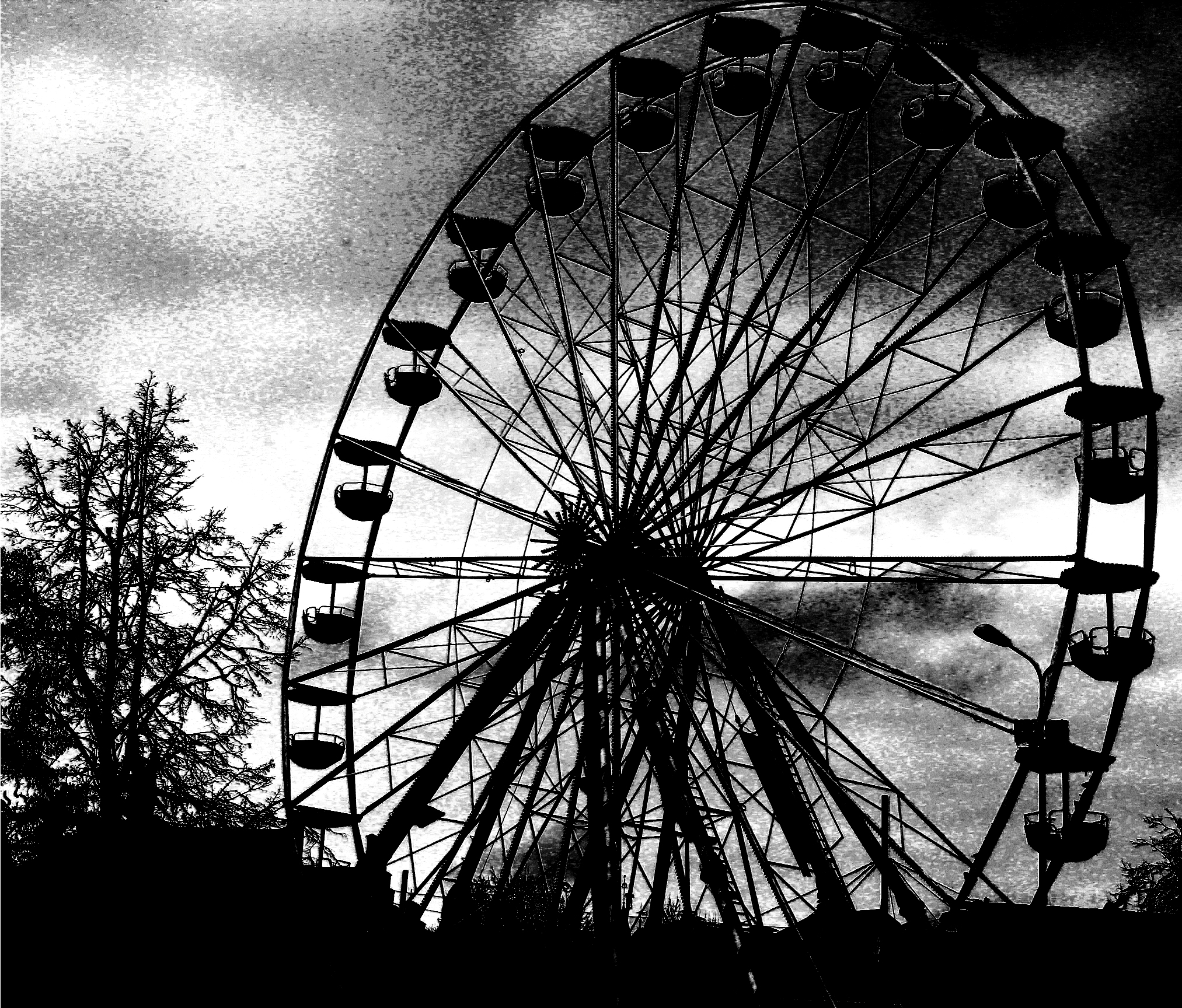 Scary Ferris Wheel by bErKandD on DeviantArt