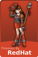 Sticker de Red Hat Linux by miXvapOrUb