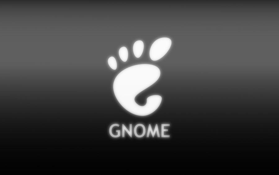 GNOME Wallpaper - Black by miXvapOrUb