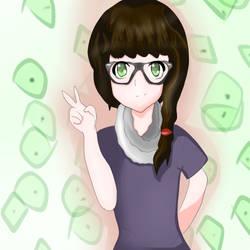 Anime Female Miri by lFrostAvatar