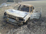 (Stock) Burnt out car 1