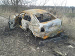 (Stock) Burnt out car 2