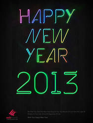 Happy New Yera 2013