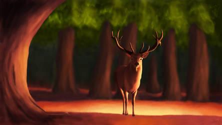 Alone Deer