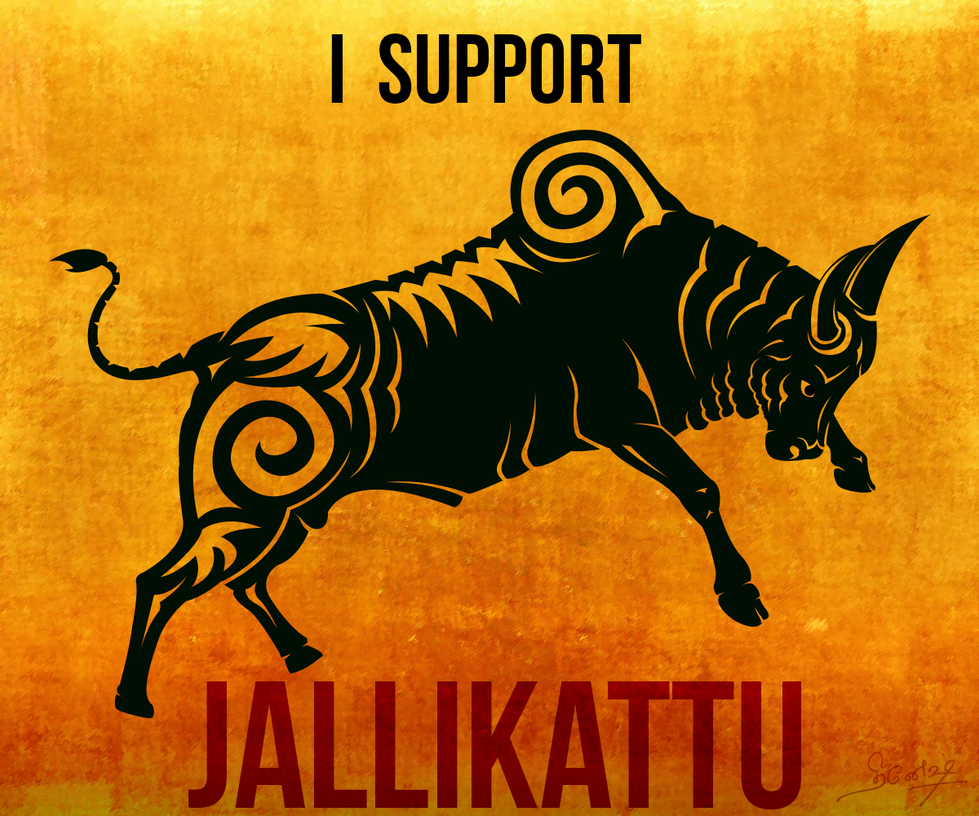 I support Jallikattu by design2din