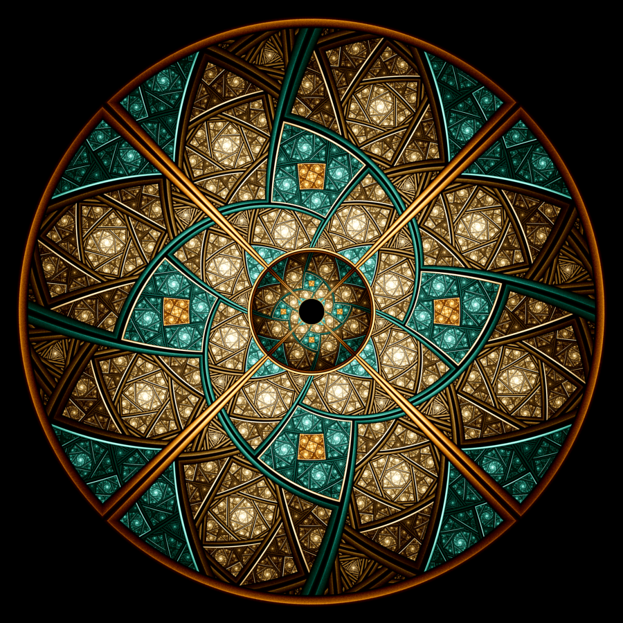 Wheel of Illusions III by rosshilbert