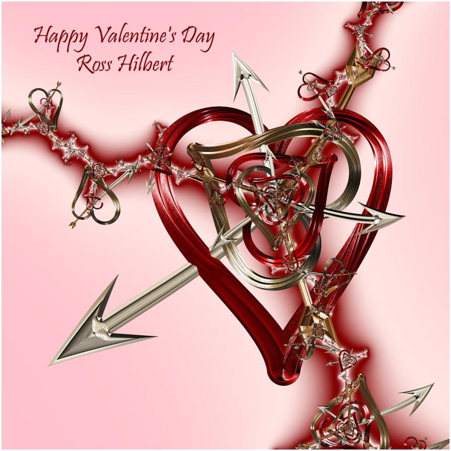 Happy Valentine's Day by rosshilbert