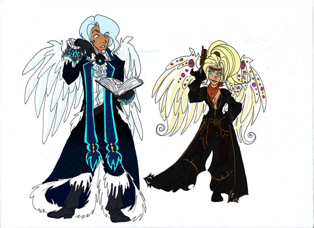 Avatars Celeas online by Alizarinna