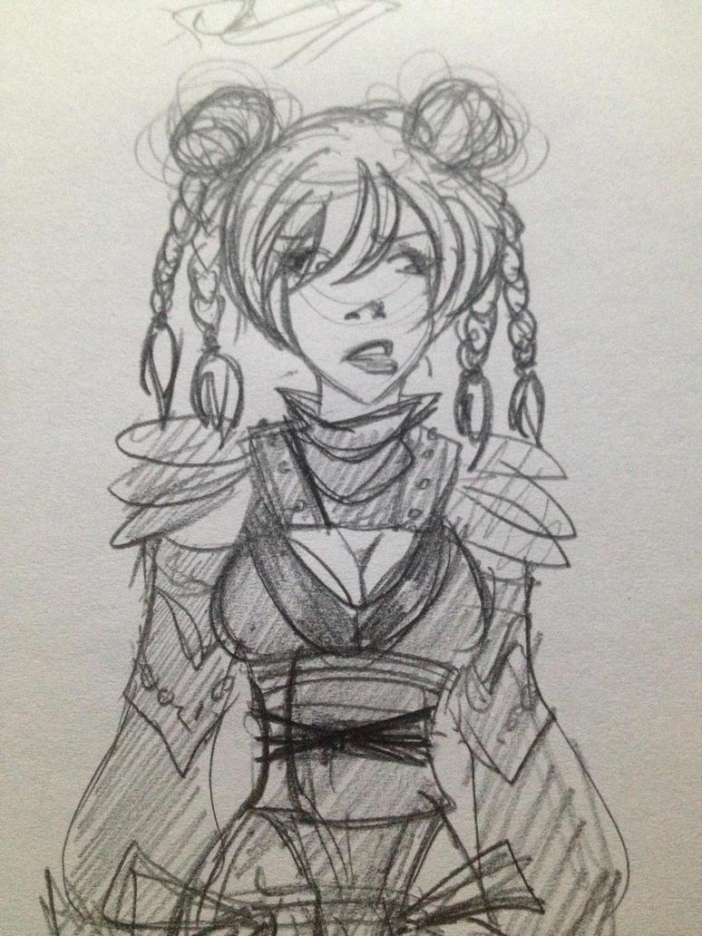 Assassin by Alizarinna
