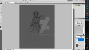 Chronicles of the storyteller - main character WIP