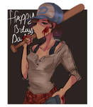 Clementine Happy Birthday Dad! by Fistdantilus