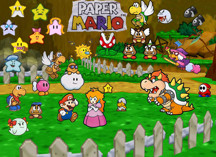 Paper Mario Wallpaper By Litzman