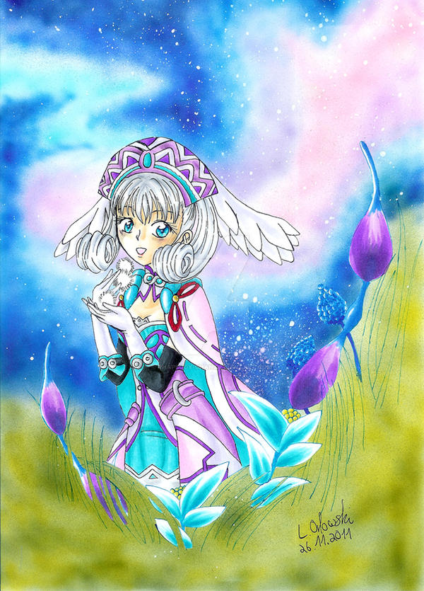 Melia from Xenoblade Chronicles by Rhapsody-Chan on DeviantArt