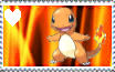 Charmander Stamp by Spottedfeatherik