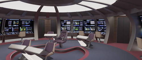 TNG USS Gemini Bridge 001a by MikeZ83