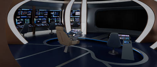 TNG USS Nautilus Bridge 001b by MikeZ83