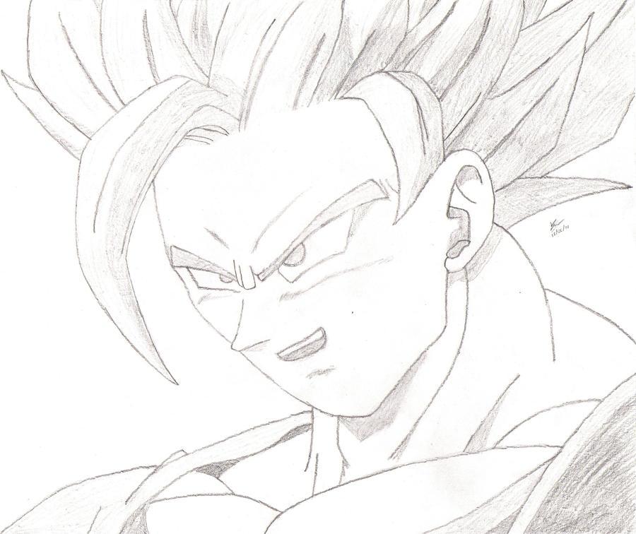 Super Saiyan 2 Goku by javiernp91 on DeviantArt