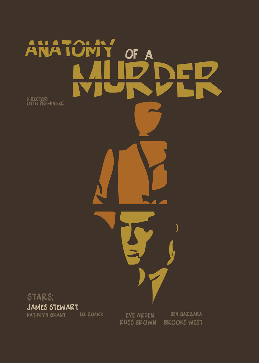 Anatomy of a Murder-poster by cipgraph on DeviantArt