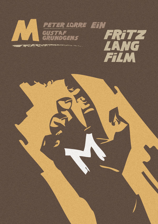M 1931 Poster MOVIE POSTER M 1931 by