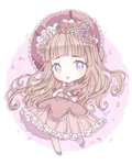 Lovely Rose Valentine's Chibi