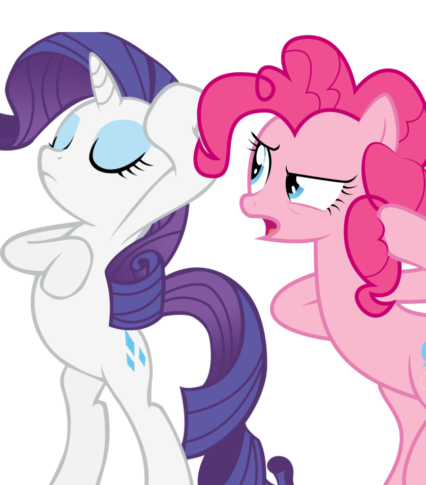 Pinkie pie and rarity by fluttershy 12 on deviantart