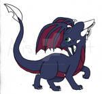 Cynder, the Black Dragon